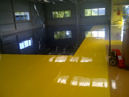 Peinture de sol - MARCUS Industrie